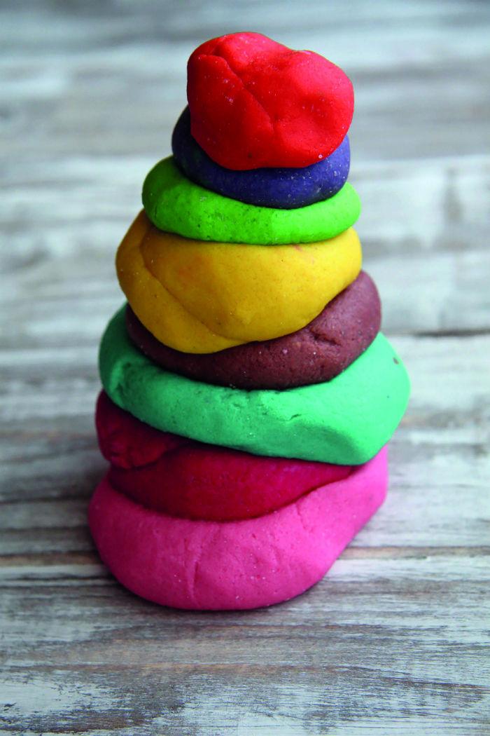 проще фото сделать тесто для лепки символ наполняет жизнь
