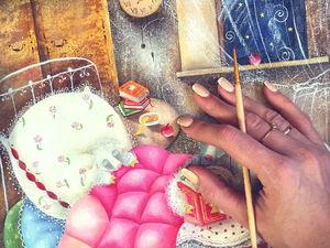 Новинка. Картина маслом Сказки на ночь. Ярмарка Мастеров - ручная работа, handmade.