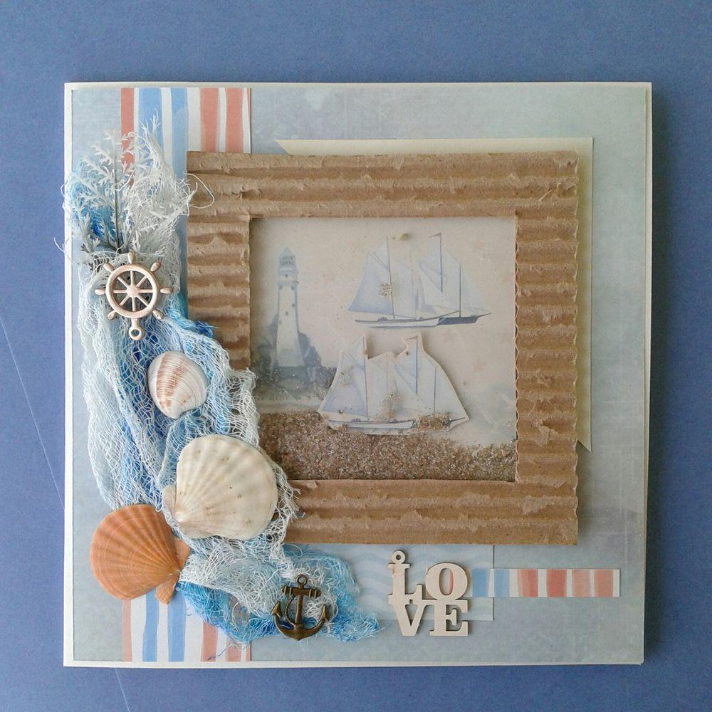Фотоальбом с обложкой-шейкером и фотографиями каскадом, фото № 1
