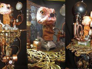 Видеоурок: арт-таймпанк «Аниматроник профессора Осипова». Ярмарка Мастеров - ручная работа, handmade.