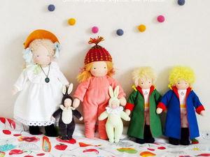 Актуальное наличие вальдорфских кукол. Ярмарка Мастеров - ручная работа, handmade.
