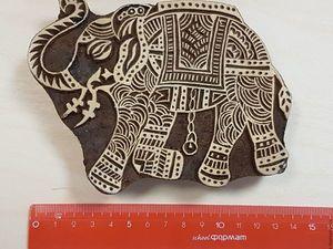 Индийские деревянные штампы. Ярмарка Мастеров - ручная работа, handmade.