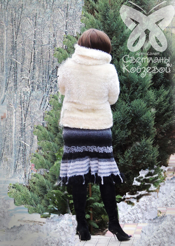 вязание, зимняя мода