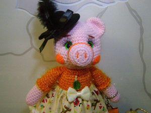 Свинка остаётся одна единственная!!! (друзьям). Ярмарка Мастеров - ручная работа, handmade.