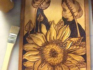 Клатч Corason подсолнухи. Ярмарка Мастеров - ручная работа, handmade.