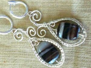 Tutorial on Making Earrings with Gem Beads. Livemaster - handmade