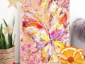 Картина маслом «Весенняя красавица» 60/70см холст на оргалите. Ярмарка Мастеров - ручная работа, handmade.