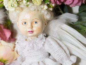 Создаем очаровательную куклу «Ангел». Ярмарка Мастеров - ручная работа, handmade.
