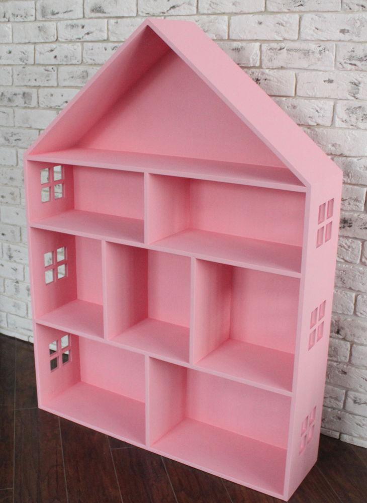 деревянная мебель, деревянный домик, домик розовый