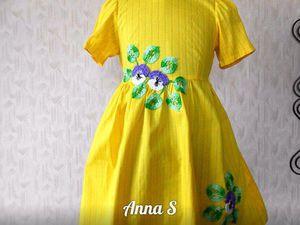 Яркие платья для девочек!!! Цены нмзкие!!! | Ярмарка Мастеров - ручная работа, handmade
