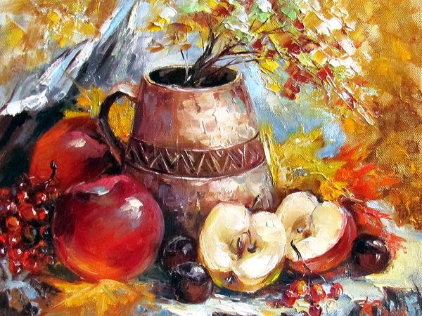 Красивый подарок - новые картины с цветами и фруктами!   Ярмарка Мастеров - ручная работа, handmade