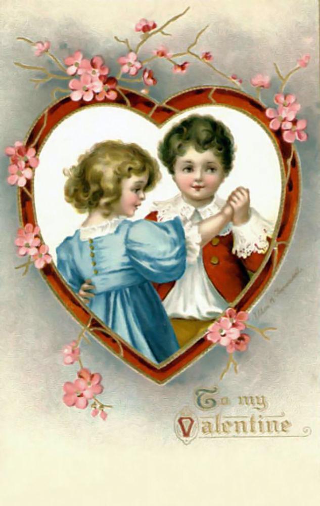 Детского сада, старые открытки для любимой