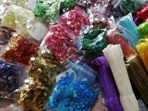 Новая поставка товаров для вышивки из Индии. Ярмарка Мастеров - ручная работа, handmade.