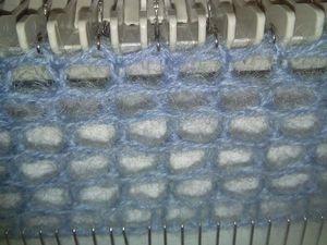 Как связать «Филейную» сетку на вязальной машине | Ярмарка Мастеров - ручная работа, handmade