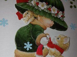 Новые открыточки к зимним праздникам!. Ярмарка Мастеров - ручная работа, handmade.