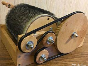Кардер барабанный - ищет хозяйку!. Ярмарка Мастеров - ручная работа, handmade.