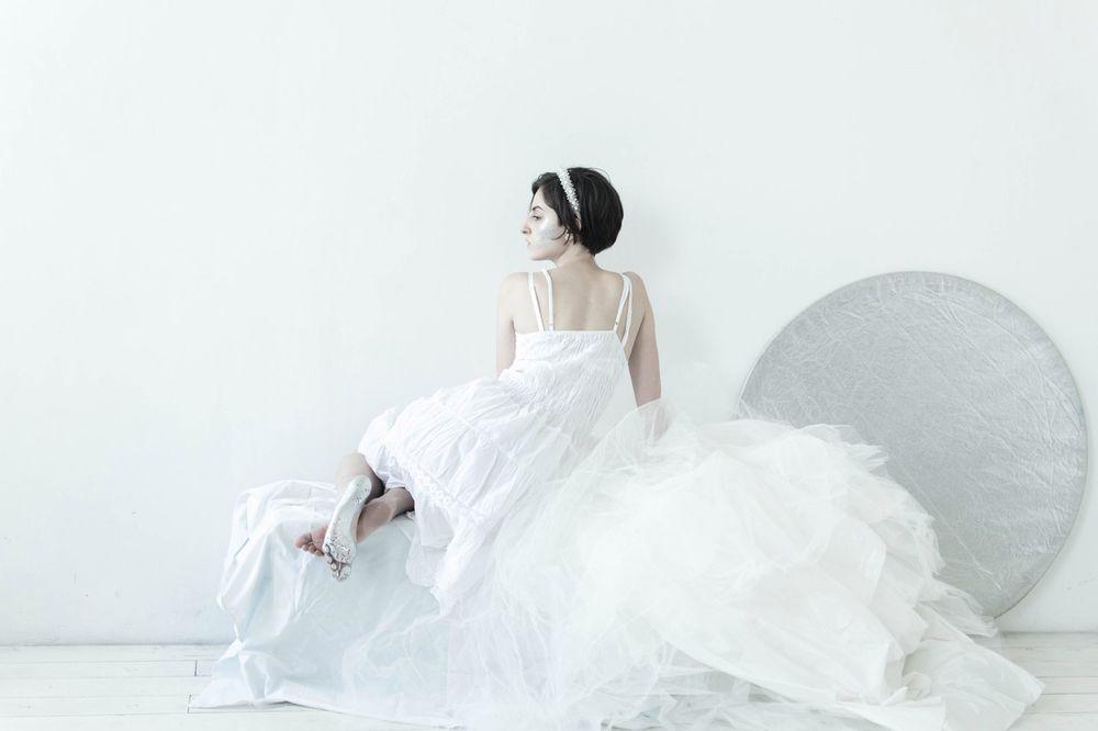 невеста, обруч для волос, диадема невесты, зима, снежинки