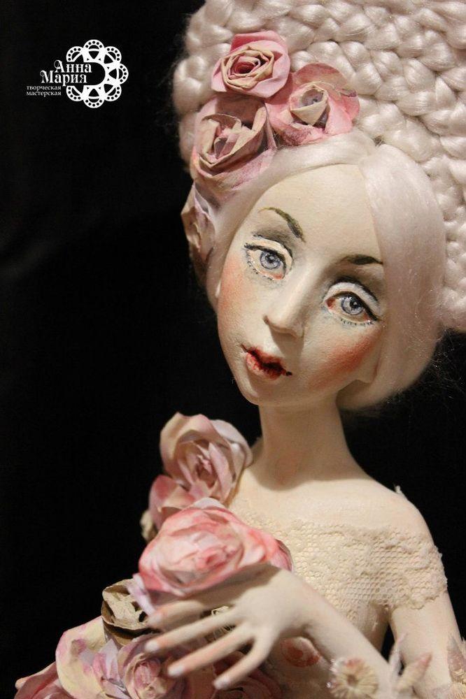 авторская кукла, весна, подарок женщине, подарок на день рождения, скидка на куклу