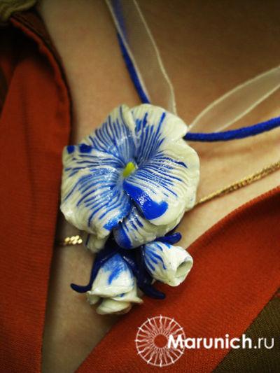 цветы из пластики мастер-класс