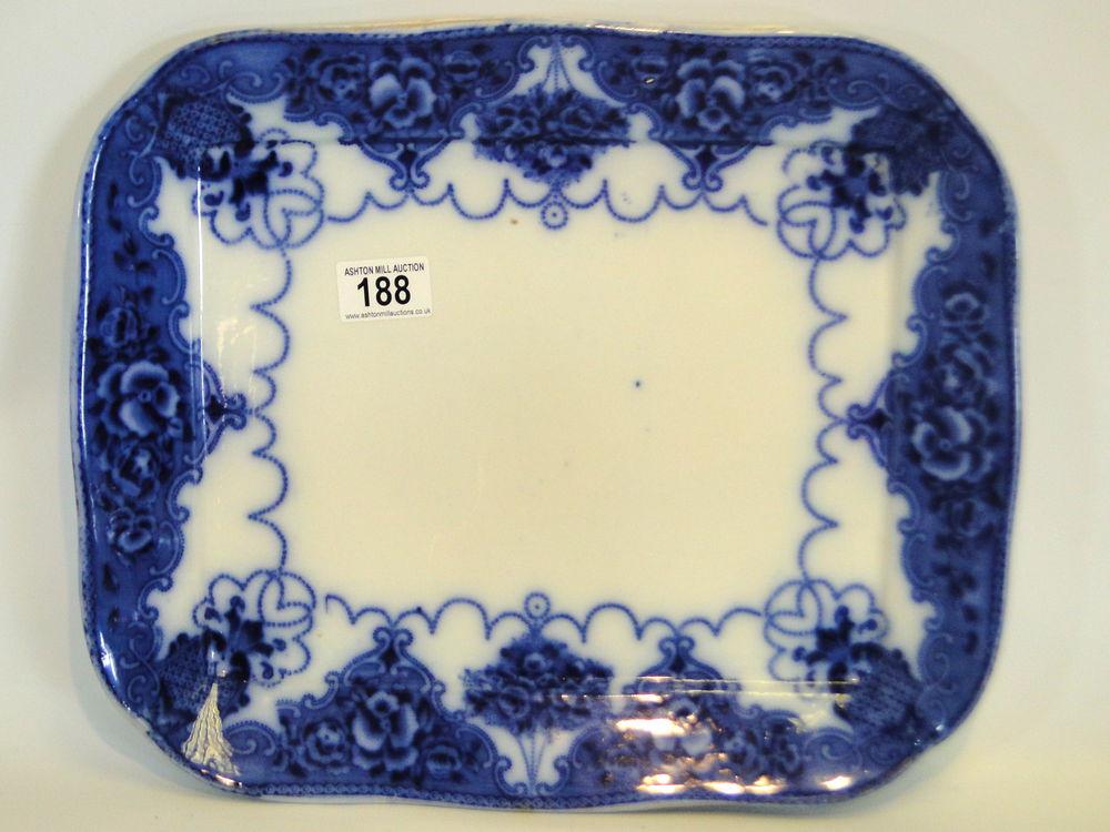 Flow blue — антикварная красота из Англии, фото № 34