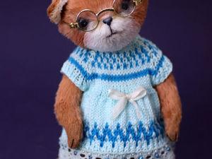 Тедди лисичка Фиона. (Teddy fox). Ярмарка Мастеров - ручная работа, handmade.