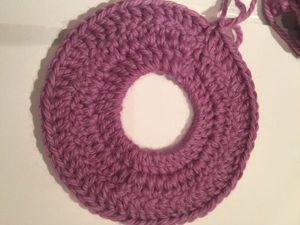 Мастер-класс: делаем ровный шов при круговом вязании крючком. Ярмарка Мастеров - ручная работа, handmade.