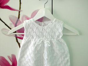 Вязаное платье для девочки. | Ярмарка Мастеров - ручная работа, handmade