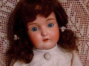 Большая антикварная кукла от Kestner