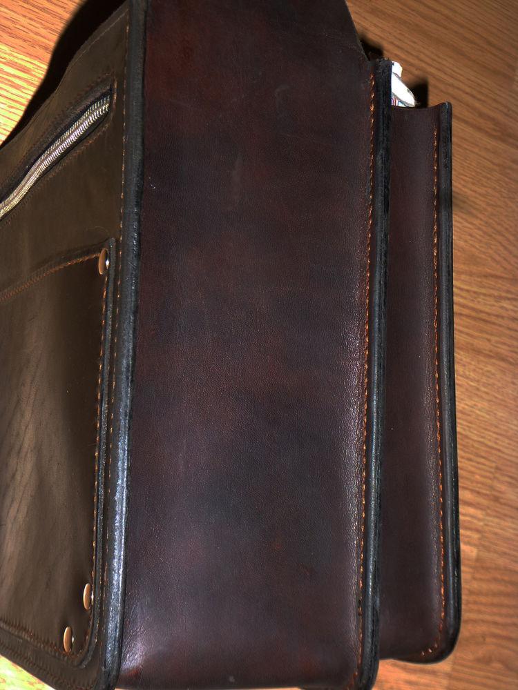 Мужская кожаная сумка своими руками фото 231