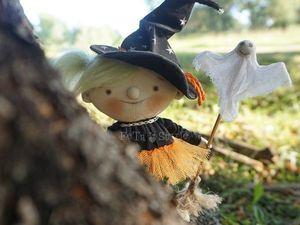 Про Маленькую Ведьмочку. Ярмарка Мастеров - ручная работа, handmade.