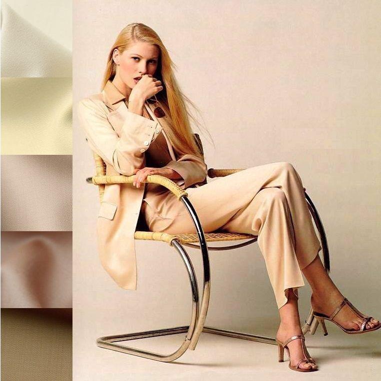 ткани из италии, деловой стиль, бежевый цвет в ткани