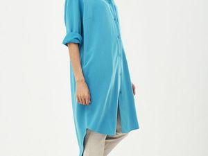 АУКЦИОН!!! Платье рубашка! Старт 2000 шаг 250! Размер 50-52. Ярмарка Мастеров - ручная работа, handmade.