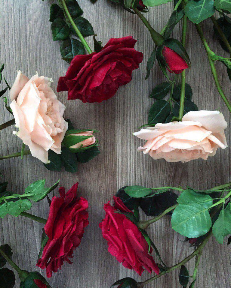hand-made, мастер-класс пластика, староанглийская роза