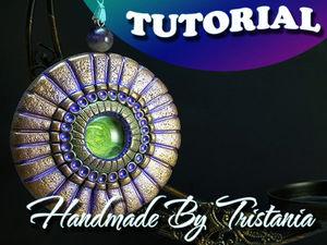 Изготавливаем «Античный амулет» из полимерной глины: видеоурок. Ярмарка Мастеров - ручная работа, handmade.