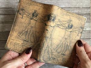 Обложка на заказ для Ирины. Ярмарка Мастеров - ручная работа, handmade.