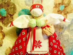 Традиционные текстильные куклы: Берегиня Дома   Ярмарка Мастеров - ручная работа, handmade
