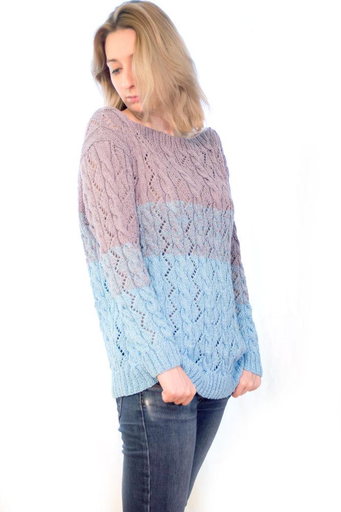 мягкий свитер, ручная работа