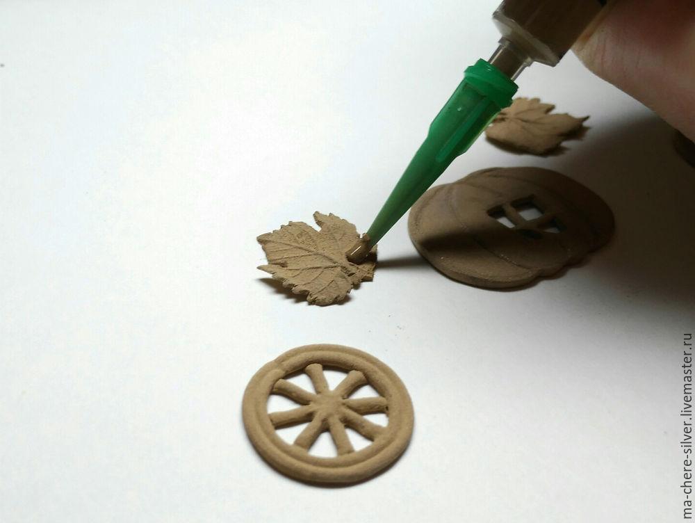 Make Fall Pumpkin From Plastic Bronze, фото № 27
