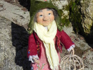 Кукла Волшебница Ида. Ярмарка Мастеров - ручная работа, handmade.