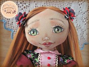 Кукла текстильная. Кукла интерьерная. Мирослава. Ярмарка Мастеров - ручная работа, handmade.