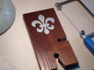 Делаем выпиловочный столик с инкрустацией. Ярмарка Мастеров - ручная работа, handmade.