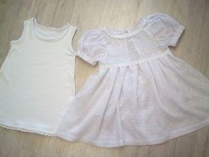 Шьем крестильное платье для девочки возрастом 2 года. Ярмарка Мастеров - ручная работа, handmade.