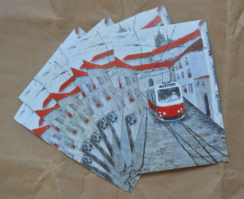 Как печатают почтовые открытки