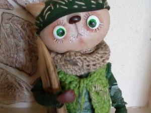 Про котенка))   Ярмарка Мастеров - ручная работа, handmade