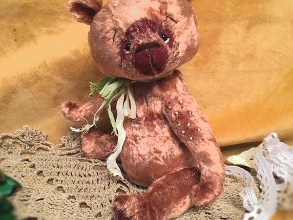 Выкройка мишки в подарок | Ярмарка Мастеров - ручная работа, handmade