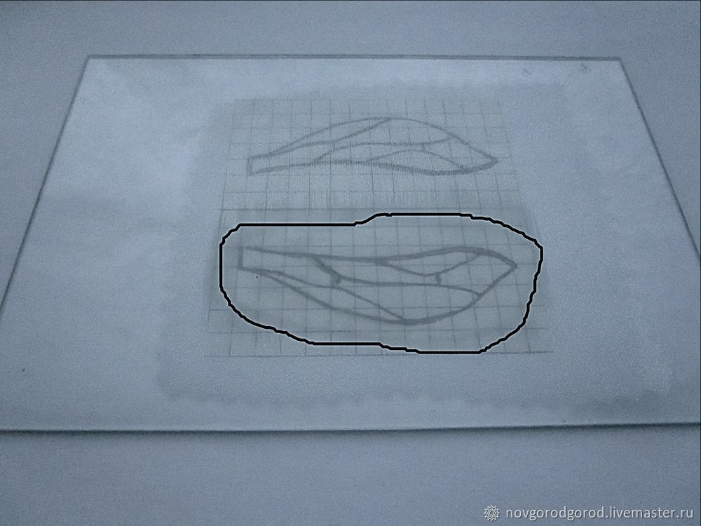 How to Make Insect Wings of Liquid Plastic, фото № 5