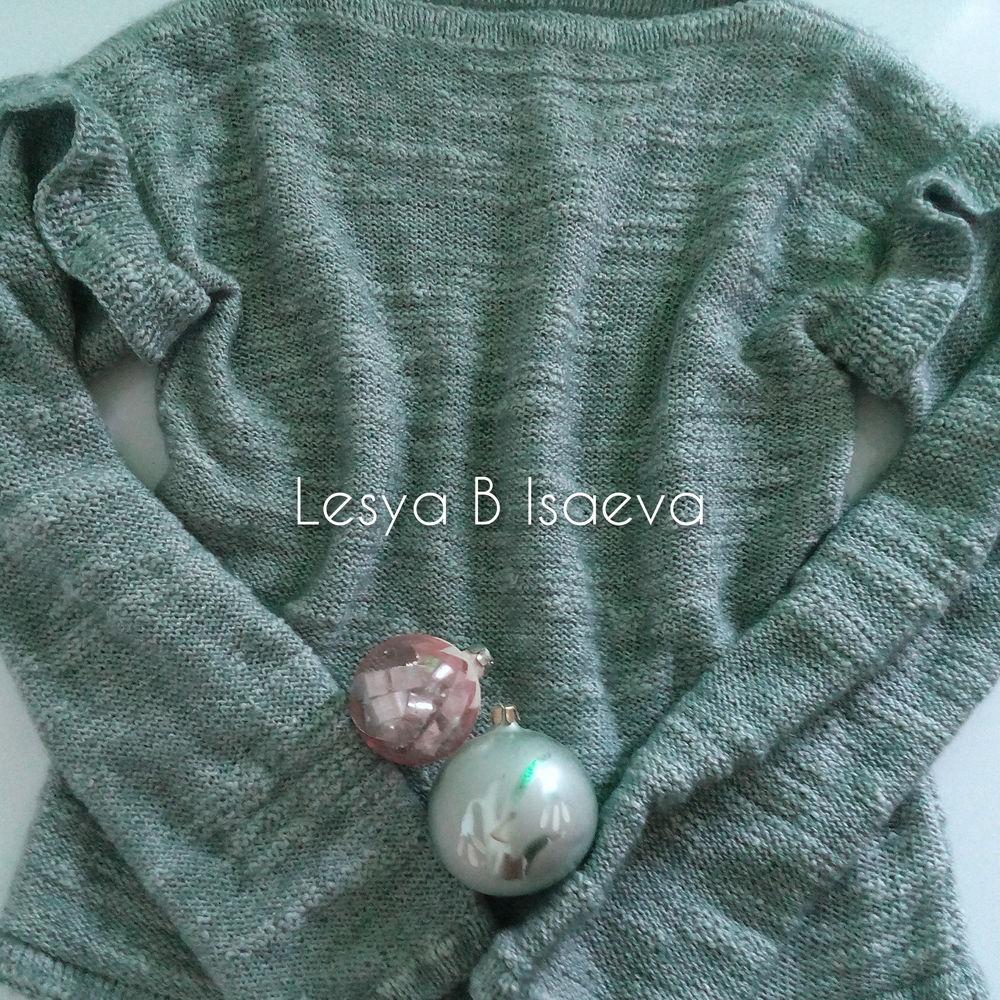 свитер вязаный, джемпер