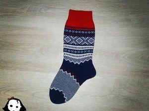Пятый день марафона носков. Ярмарка Мастеров - ручная работа, handmade.