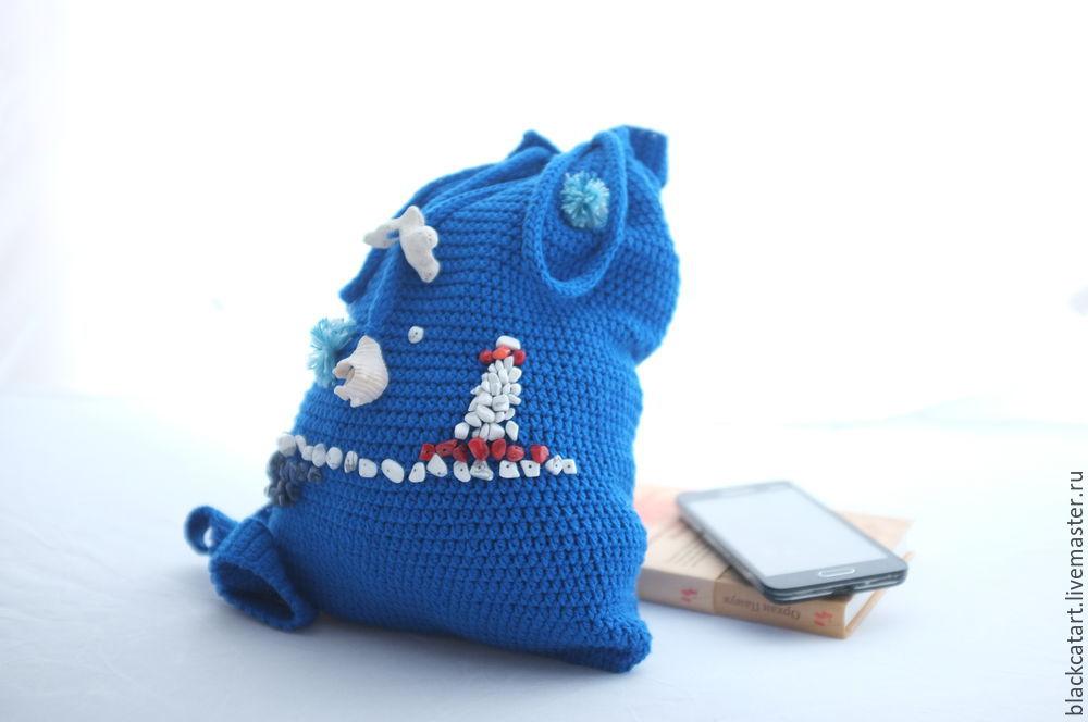 Пляжная мода: декорируем летний рюкзачок, фото № 14