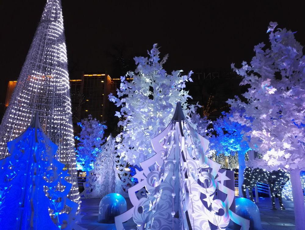 москва, новый год 2017, new year, лед
